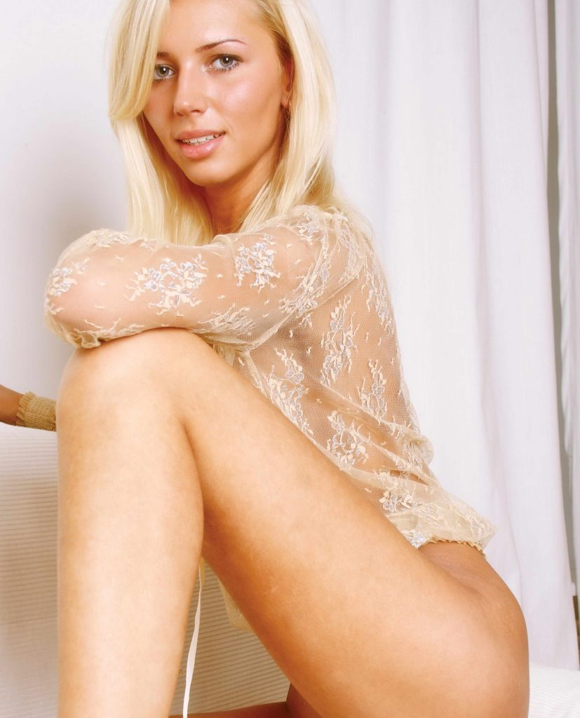 Fit Blonde Escort